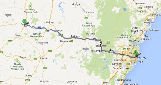 Sydney to Parkes-1